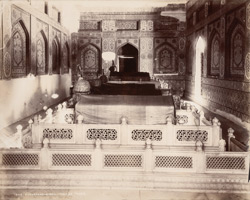 Hyberabad, Sindh. Talpur Tomb, interior of